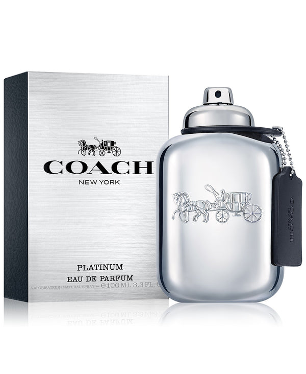 COACH Men's Platinum Eau de Parfum, 3.3-oz (M)