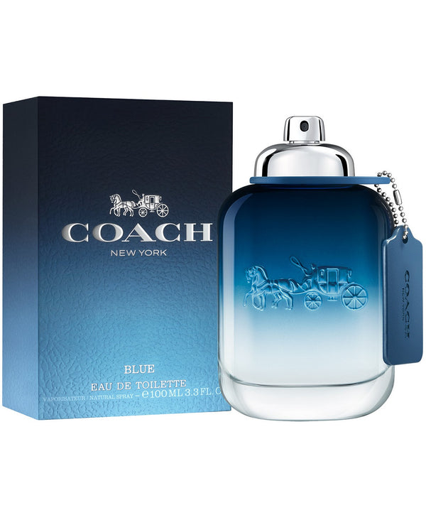 COACH Men's Blue Eau de Toilette Spray, 3.3-oz