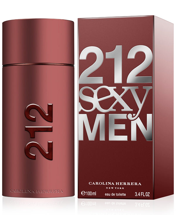 Carolina Herrera 212 Sexy Men Eau de Toilette Spray, 3.4 oz