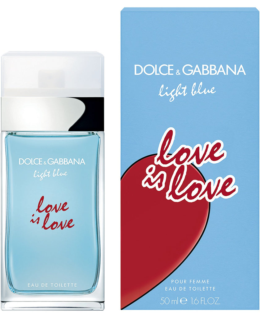 DOLCE&GABBANA Light Blue Love Is Love Eau de Toilette Spray, 3.3-oz