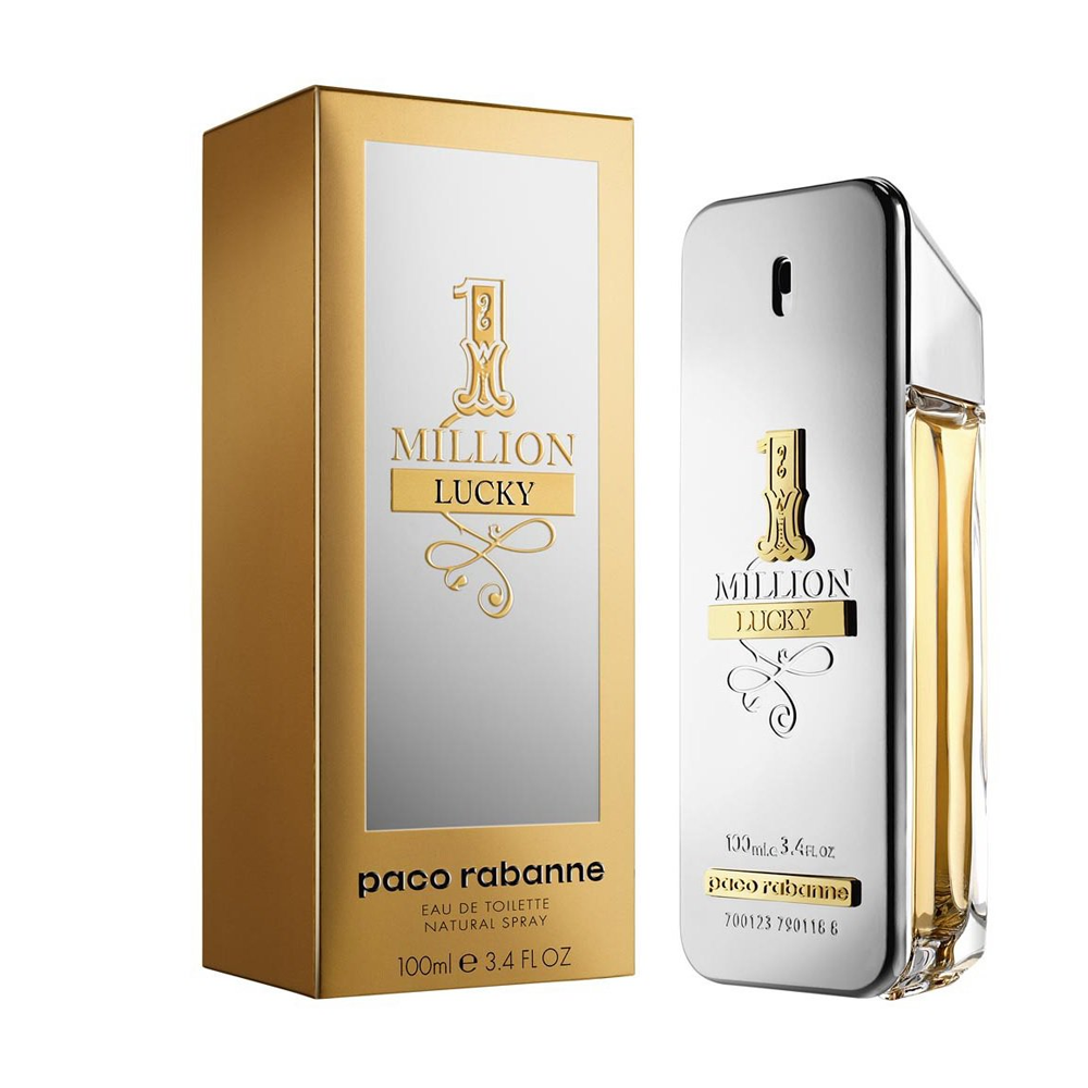 Paco Rabanne Men's 1 Million Lucky Eau de Toilette Spray, 3.4-oz