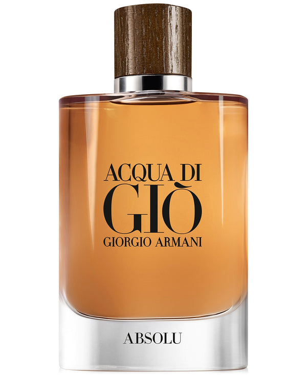 Giorgio Armani Men's Acqua di Giò Absolu Eau de Parfum Spray, 4.2-oz.