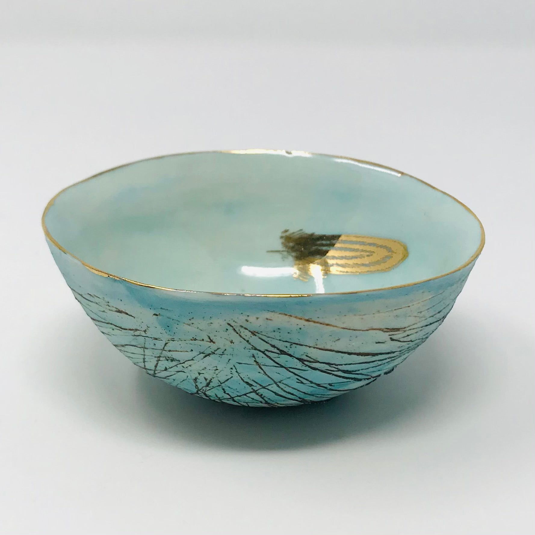 Nest Bowl, Feather, Extra Small