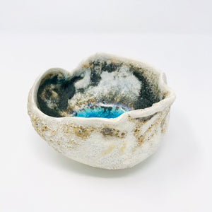 Rock Pool Bowl, Sculptural Vessel, Small