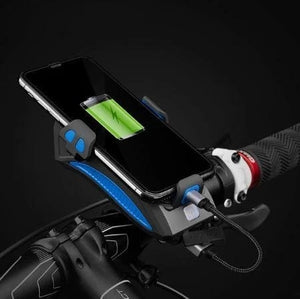 4 in 1 Multi-Function Bicycle Light / PowerBank