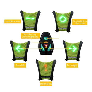 LED Cycling Indicator Vest