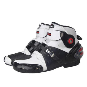Professional Motorcycle High Ankle Racing Boots.