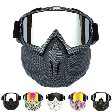 Detachable Weatherproof Outdoor Anti-fog Mask