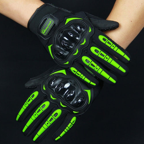 Protective Full Finger Anti Slip Gloves with touch screen ability