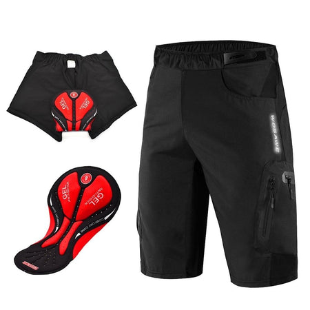 Waterproof 3D Gel Padded Cycling Shorts