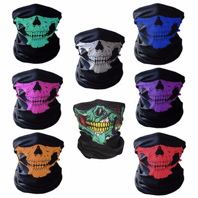Skull Face and Neck Bandana
