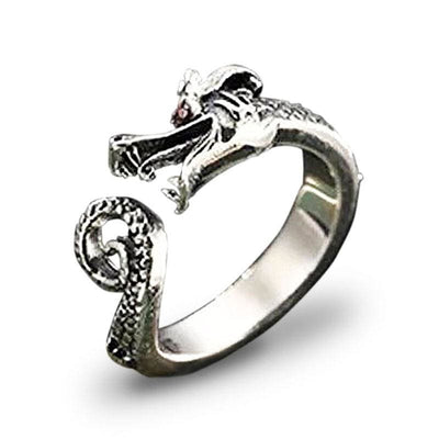 Bague Dragon Ancestral (Argent) | Dragonance
