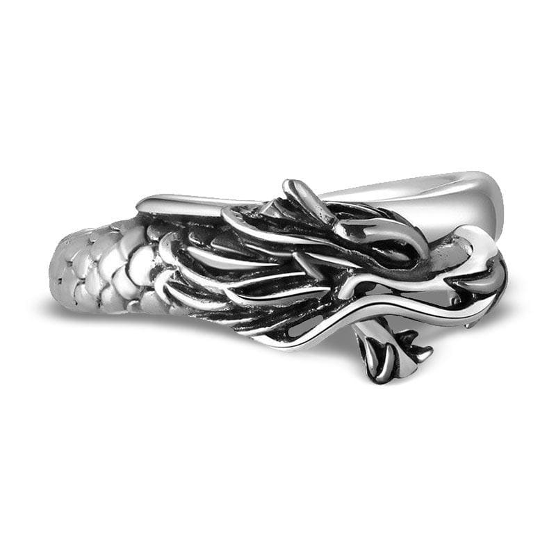 Bague Dragon Corps Brillant (Argent) 52 | Dragonance