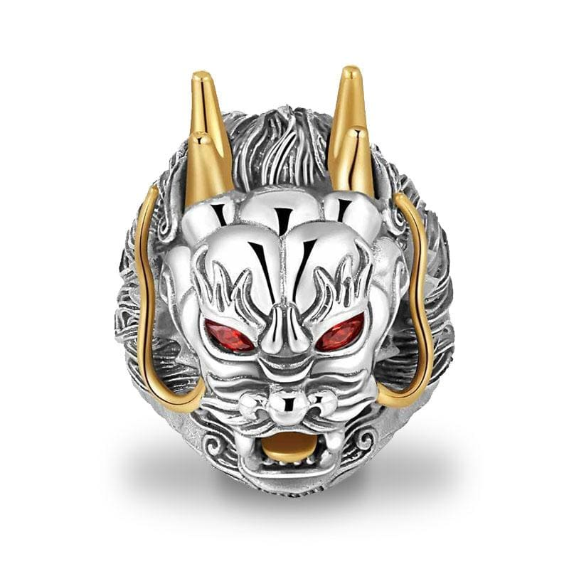 Bague Dragon King (Argent) | Dragonance