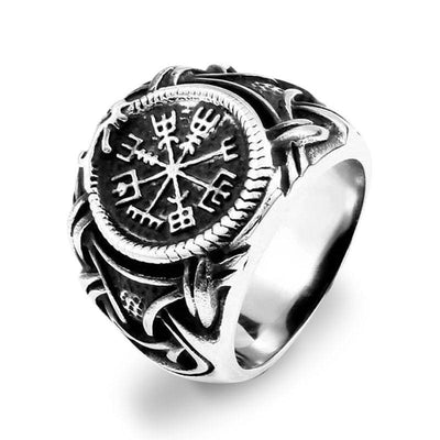 Bague Dragon Viking (Acier) 57 | Dragonance
