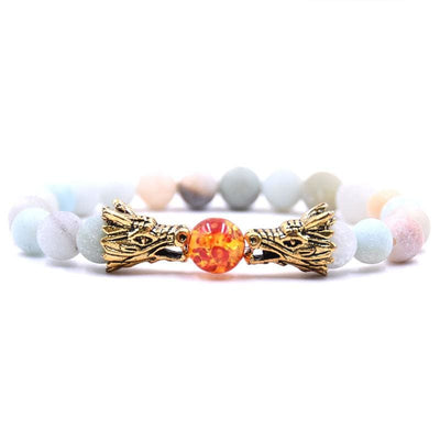 Bracelet Dragon Double Tête (Perles) Bonbon | Dragonance