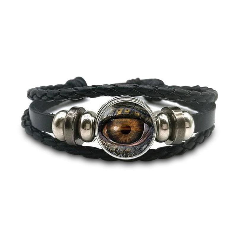 Bracelet Dragon Komodo (Cuir) | Dragonance
