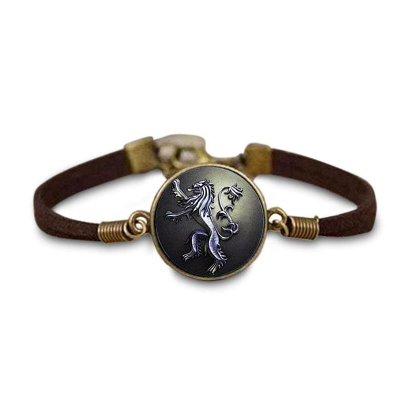 Bracelet Dragon Lion (Cuir) | Dragonance