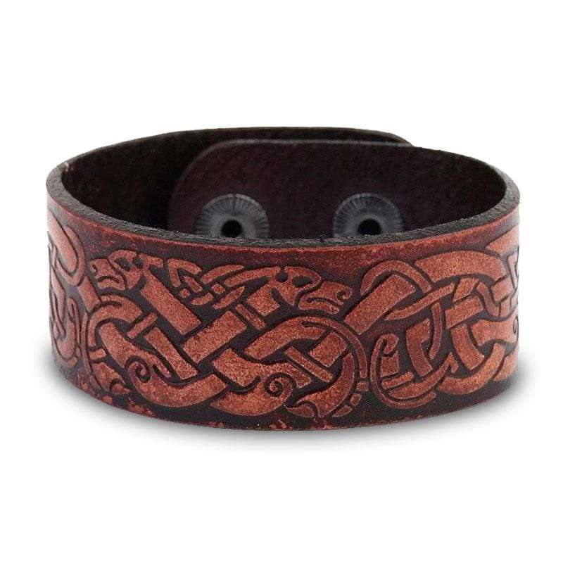 Bracelet Dragon Vintage (Cuir) | Dragonance