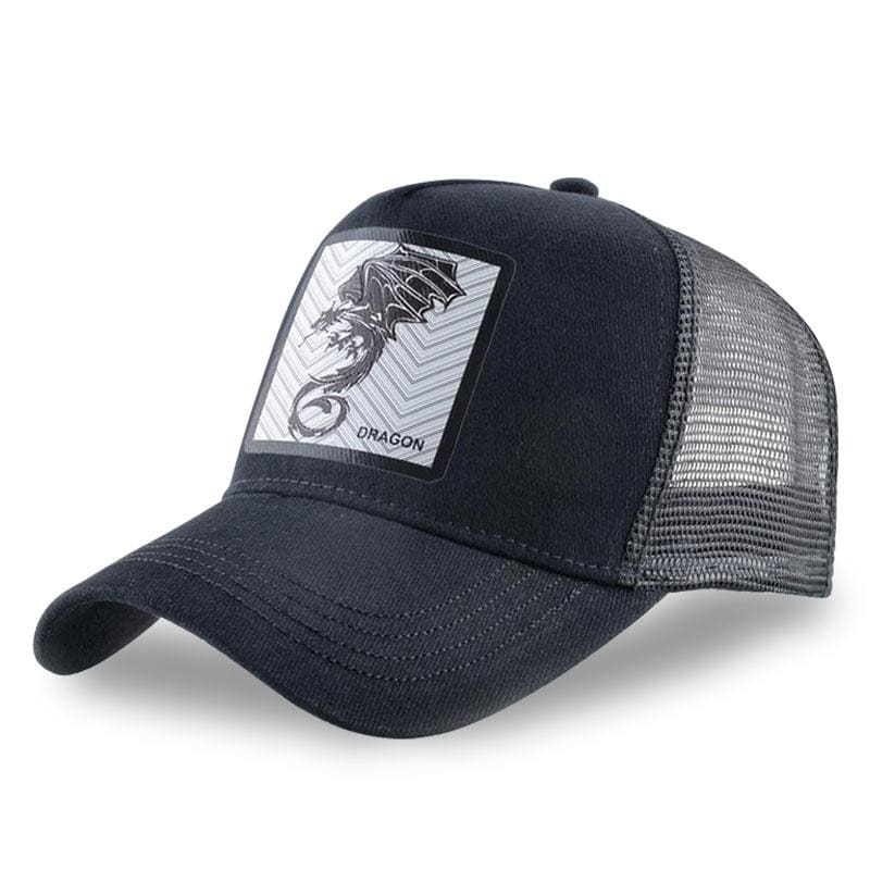Casquette Dragon Baseball Noir | Dragonance