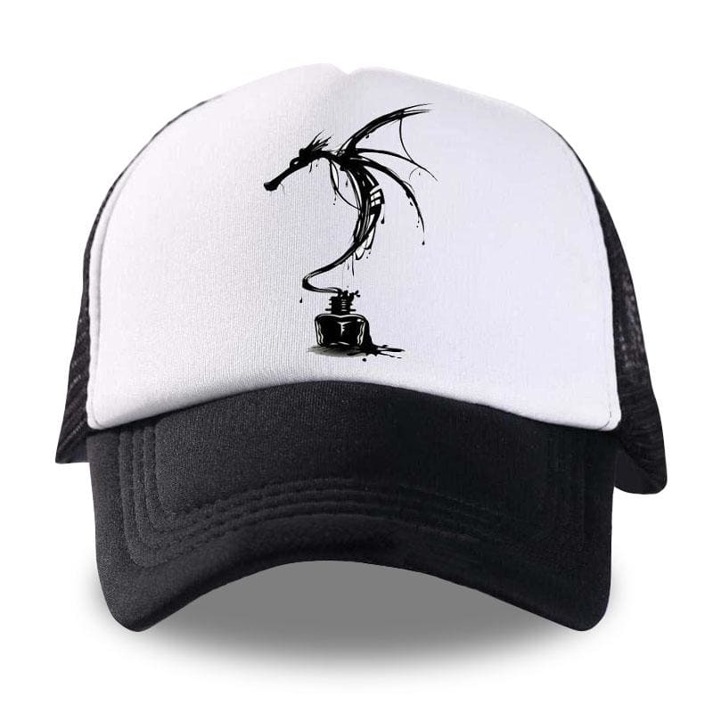 Casquette Dragon Dessin Gothique | Dragonance