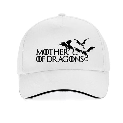 Casquette Dragon Mother of Dragons Blanc | Dragonance