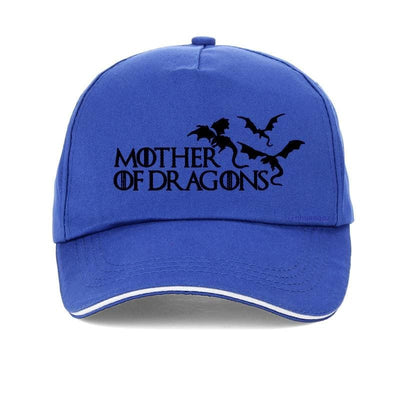 Casquette Dragon Mother of Dragons Bleu | Dragonance