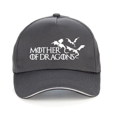 Casquette Dragon Mother of Dragons Gris | Dragonance
