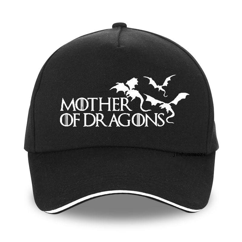 Casquette Dragon Mother of Dragons Noir | Dragonance