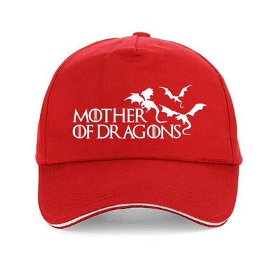 Casquette Dragon Mother of Dragons Rouge | Dragonance