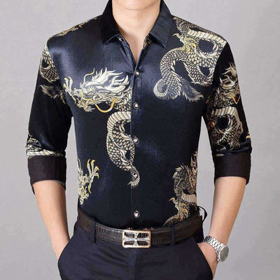 Chemise Dragon Asiatique | Dragonance