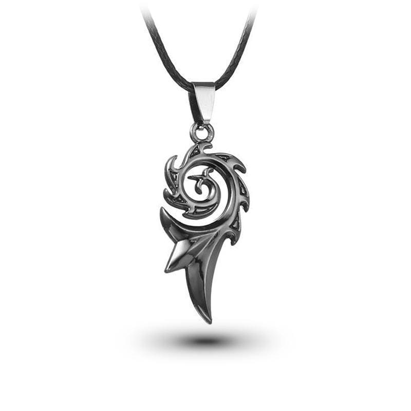 Collier Dragon Flamme (Cuir) | Dragonance