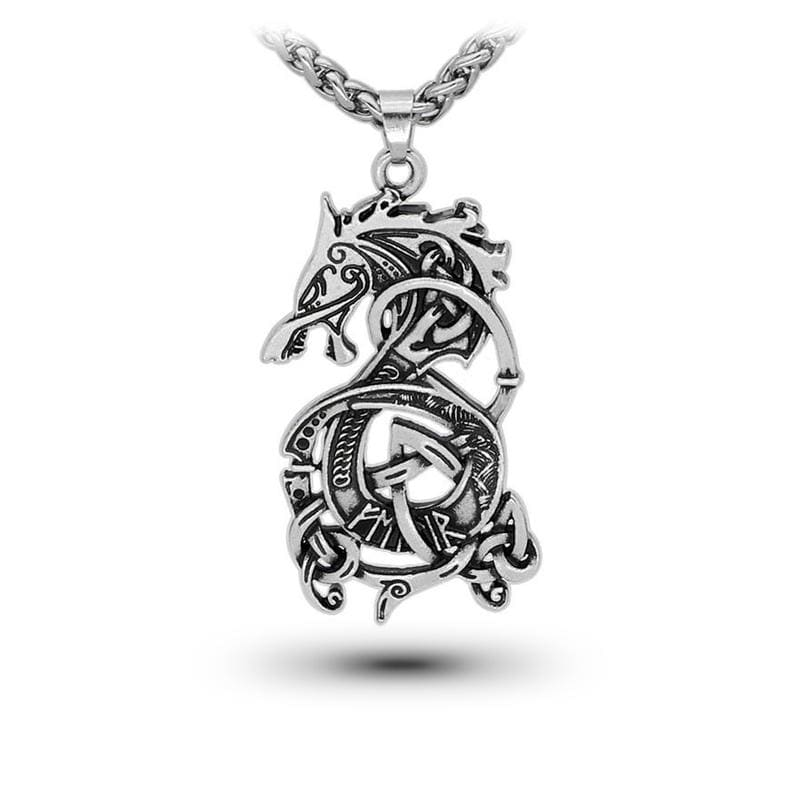 Collier Dragon Odin (Acier) | Dragonance
