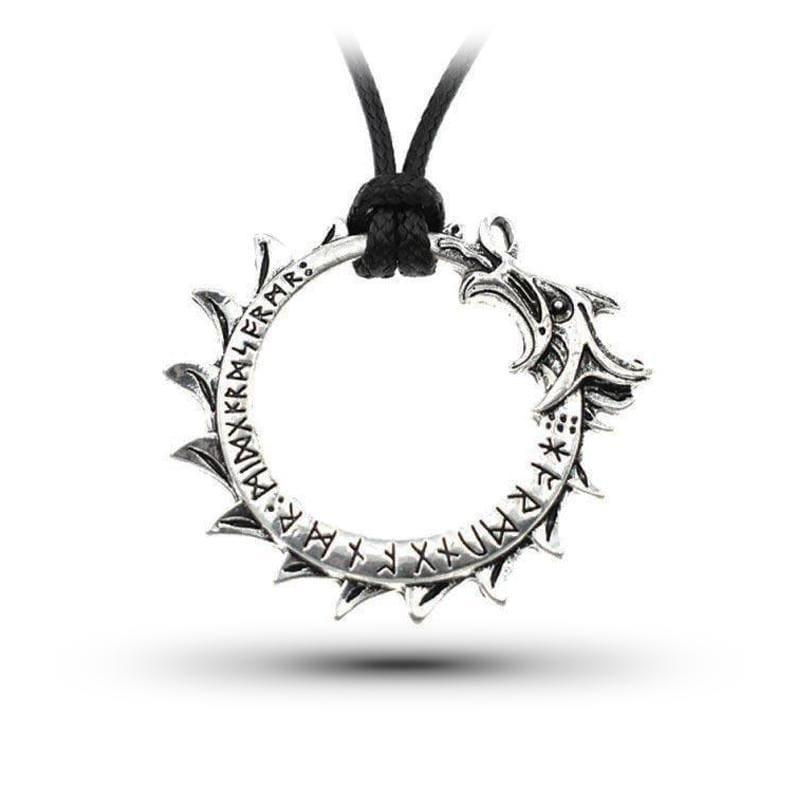 Collier Dragon Viking (Cuir) | Dragonance