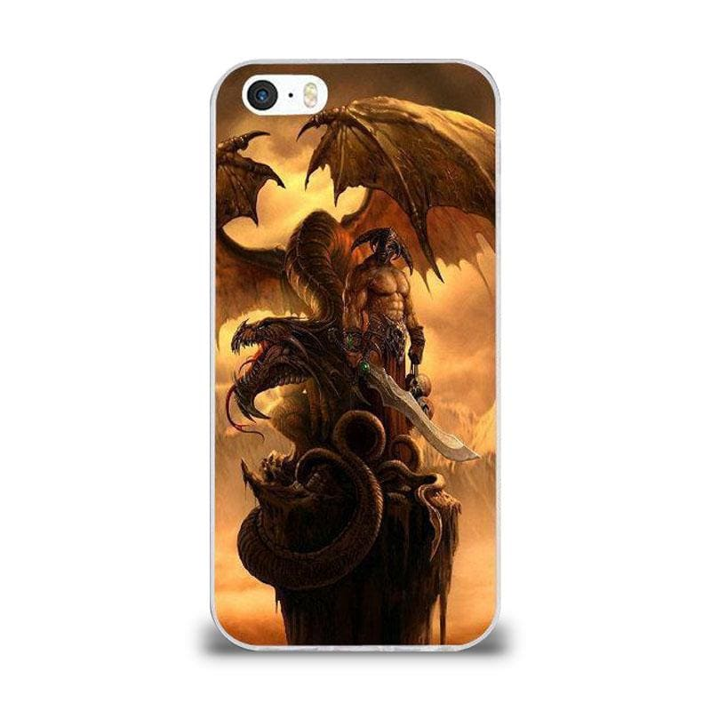 Coque iPhone Dragon Celtique iPhone 4 et 4S | Dragonance
