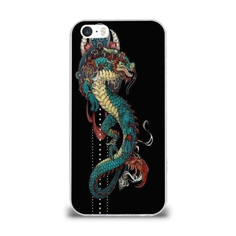 Coque iPhone Dragon Créature Mythique iPhone 4 et 4S |