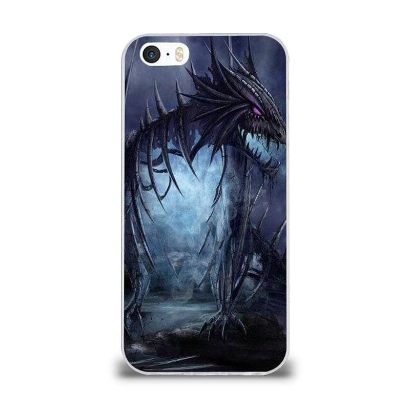 Coque iPhone Dragon Squelette iPhone 4 et 4S | Dragonance