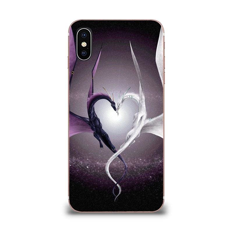 Coque Samsung Dragon Coeur Yin Yang Galaxy J1 Mini |