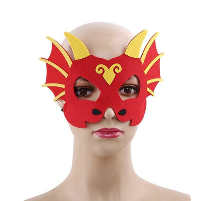 Masque Dragon Femme Rouge | Dragonance