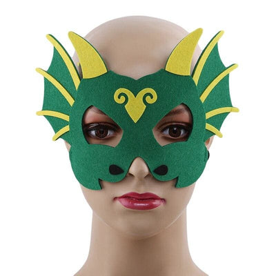 Masque Dragon Femme Vert | Dragonance