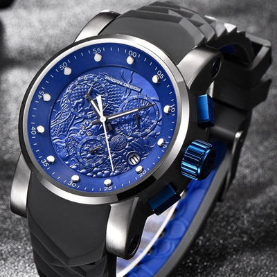 Montre Dragon Or Rose | Dragonance