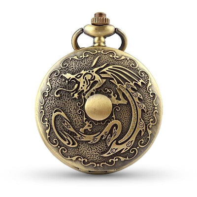 Montre Gousset Dragon Gothique | Dragonance