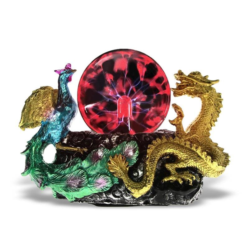 Statue Dragon Chinois (Plasma) | Dragonance