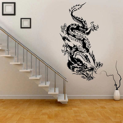 Sticker Mural Dragon Oriental 23 x 57 | Dragonance