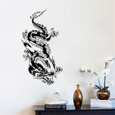 Sticker Mural Dragon Oriental | Dragonance
