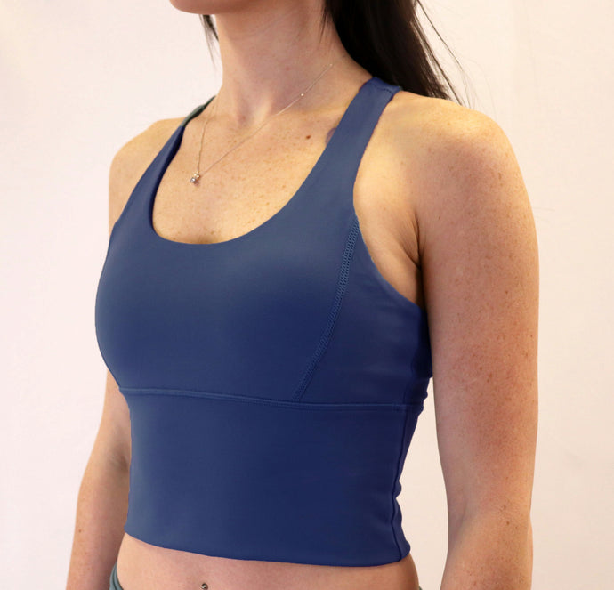 The Aspire Bra - royal blue