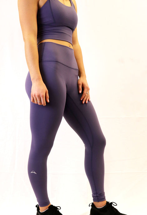The Aspire Legging - concord purple