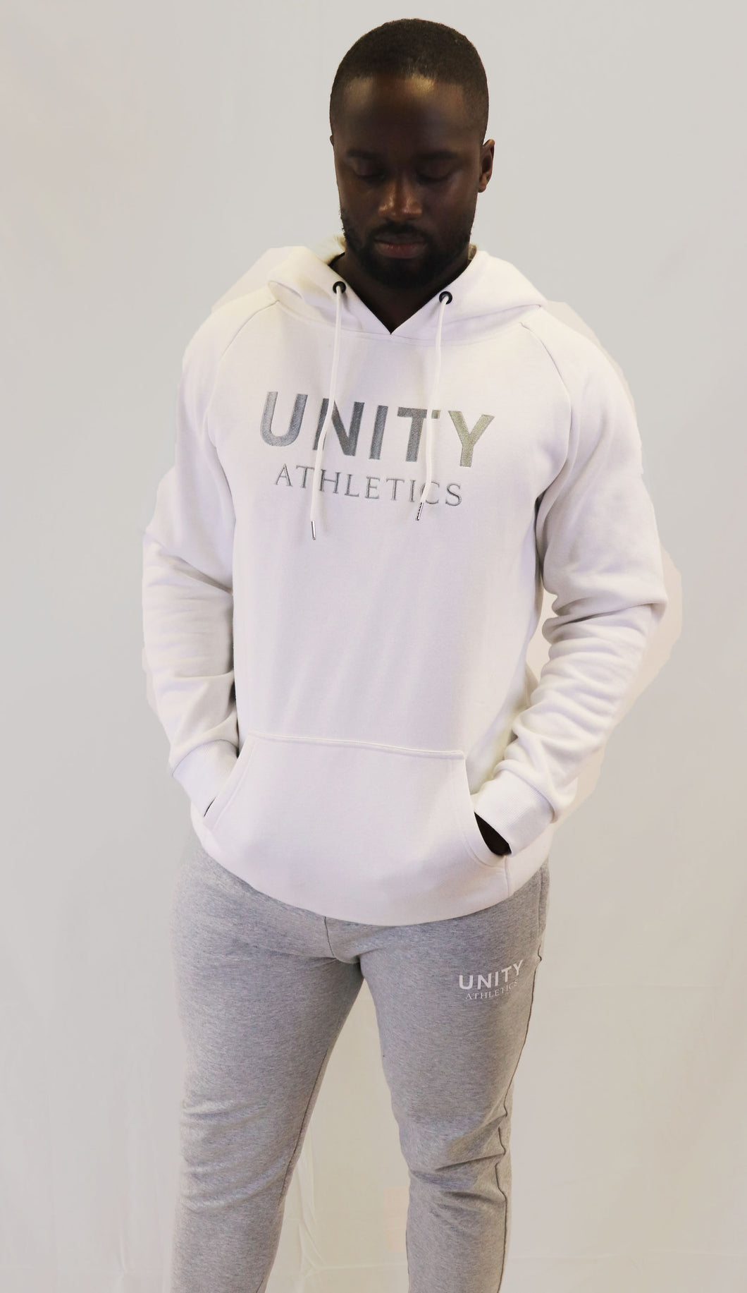 The Unity Hoodie - white