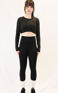 The Aspire Legging - jet black