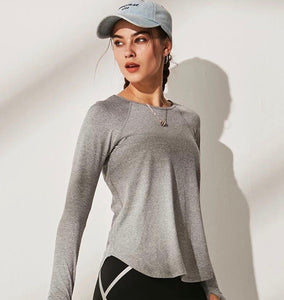 The Motion Top - grey